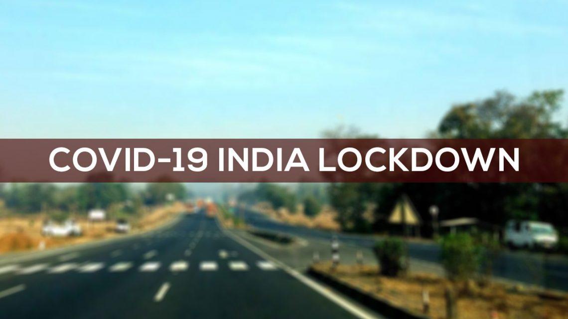 21-day India Lockdown for Coronavirus