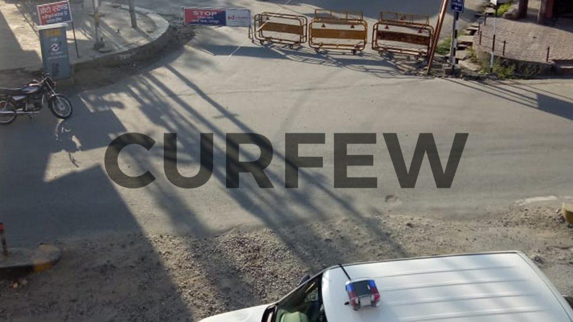 Curfew in Udaipur