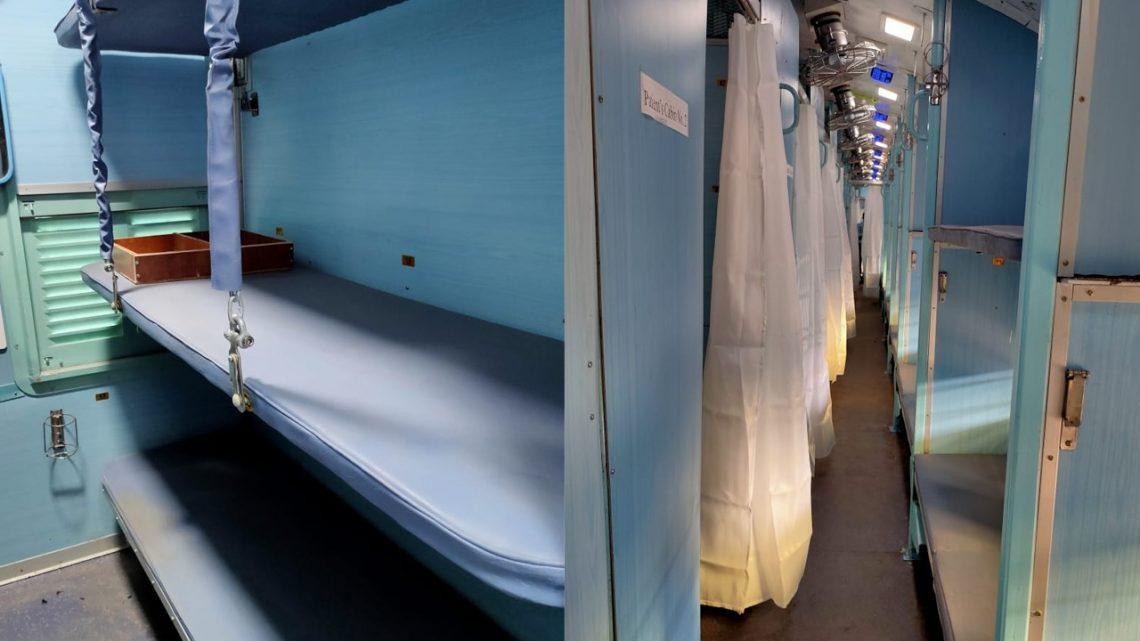 Train Coaches Isolation Ward