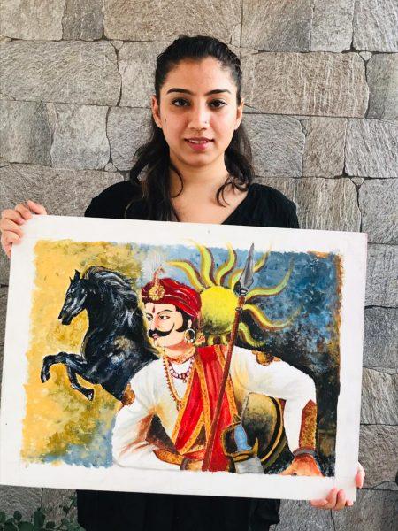 Maharan Pratap Painting Exhibition