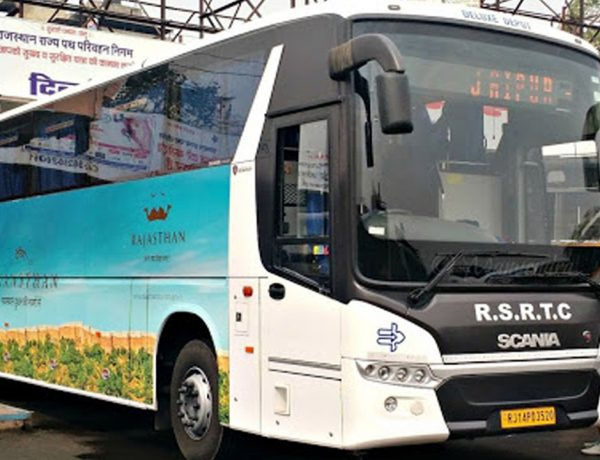 RSRTC Buses Udaipur