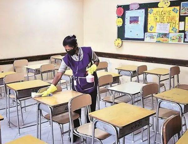 Schools reopen in Rajasthan