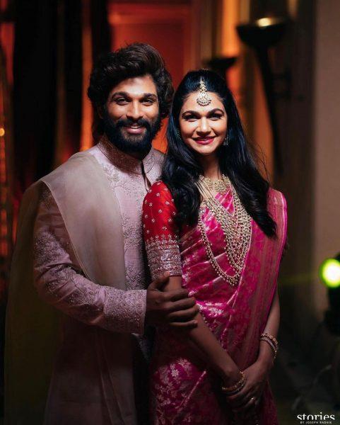 Allu Arjun at Niharika Konidela Wedding Udaipur