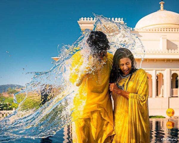 Mangalsnanam at Nischay wedding udaipur