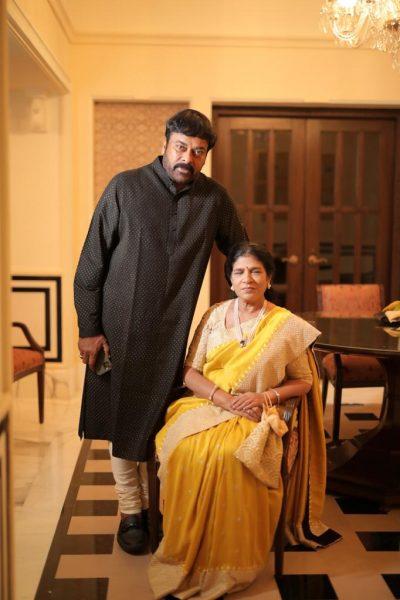 Ram Charan and Family at Niharika Konidela Wedding