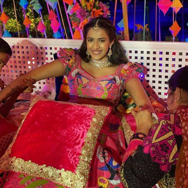 Niharika Konidela for destination wedding in Udaipur
