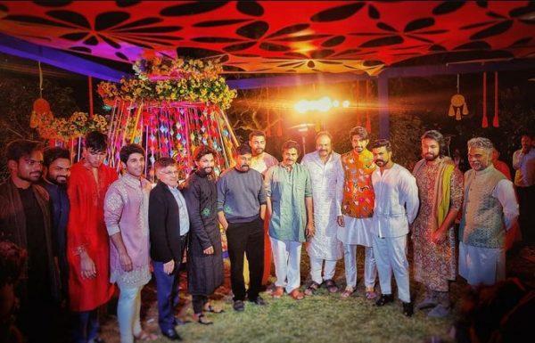 Allu Arjun and Ram Charan in Udaipur