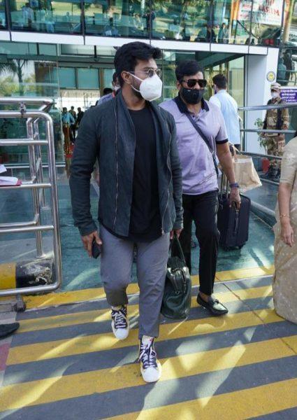 Ram Charan Airport Look