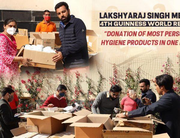 Lakshyaraj Singh Mewar 4th Guinness World Record