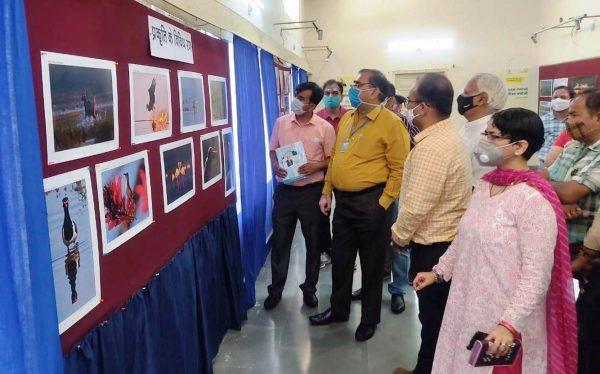 Exhibition for Rajasthan Diwas in Suchana Kendra Auditorium, Udaipur