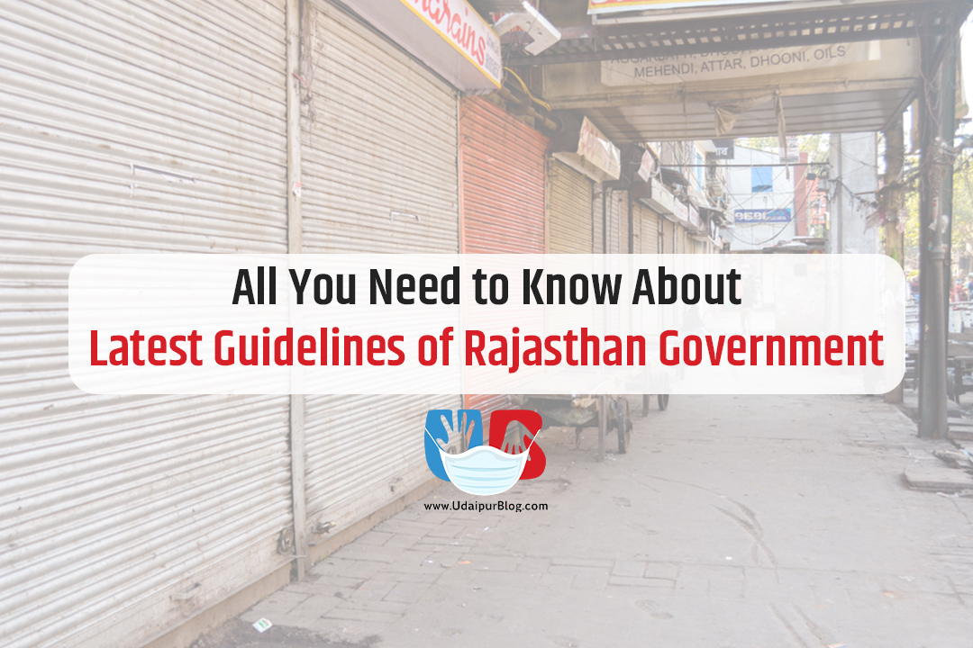 Rajasthan Goverment New Guidelines