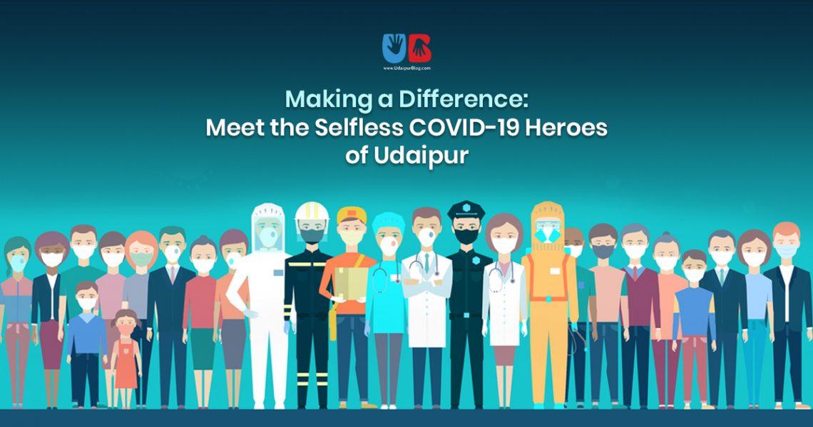 Covid Heroes in Udaipur