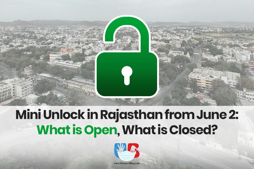 Unlock in Rajasthan